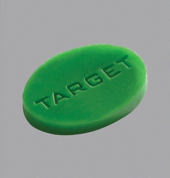 GRIP WAX WITH TARGET LOGO LIME