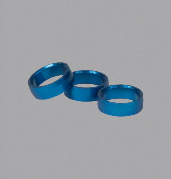 SLOT LOCK RING BLUE