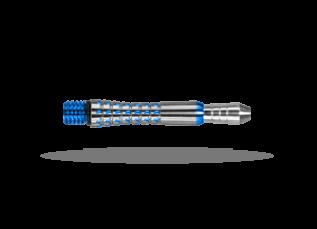 PIXEL TITANIUM SHAFT BLUE SHORT