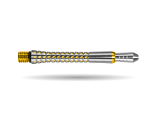 PIXEL TITANIUM SHAFT GOLD MEDIUM