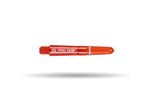 PRO GRIP SPIN SHAFT RED SHORT