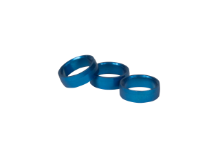 SLOT LOCK RING BLUE